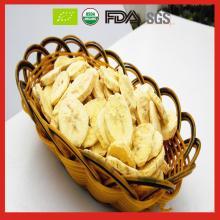 USDA Organic Certified Bulk Freeze Dried Banana Fruit