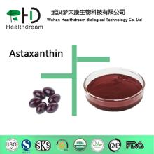 Supply natural  Astaxanthin , Haematococcus pluvialis  extract ed