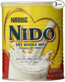 Red Cap Nestle Nido Milk from Holland