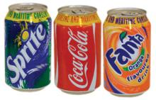 Fanta,Coca cola, sprit Soft Drink 330ml Can