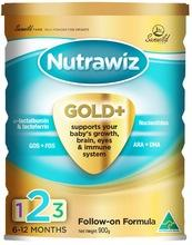 Nutrawiz Baby Milk Powder Gold Toddler Formula (Step 3) 400g
