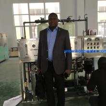 5000LPH reverse osmosis RO water treatment plant