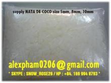 NATA DE COCO / COCONUT JELLY FOR BUBBLE TEA