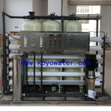 3000L/H single stage RO pure water system with the softener