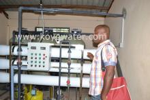 6000L purifer water produce line