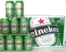Dutch Premium Heineken Bottled and Canned Beers (250, 330, 500ml)