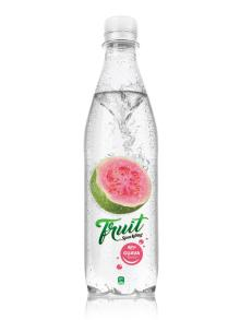 500ml PET bottle Sparking guava juice