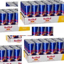 AUSTRIA ORIGINAL RED BULLS  ENERGY   DRINK  250 ML RED/ BLUE /SILVER