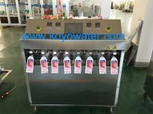 Fruit shape juice pouch filling packing machine