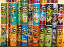 Pringles 40g, 65, 150g, 154g, 161g, 165g ,169g and 187g available at competitive prices Expresc