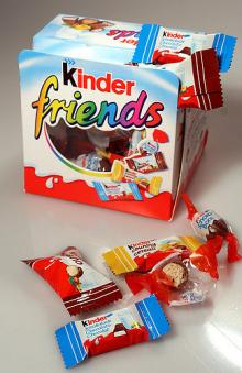 FERRERO KINDER FRIENDS 200G, BUENO, BONS, SURPRISE, JOY