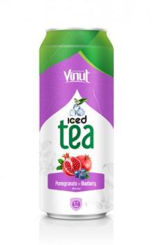 Iced Tea Pomegranate - Blueberry Flavour 500ml