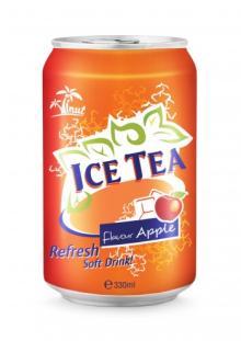 Ice Tea Flavour Apple Refresh Soft Drink
