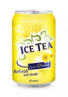 330ml Ice Tea Flavour Daiseis Refresh Soft Drink