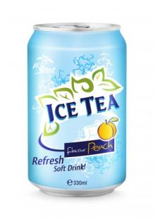 330ml Ice Tea Flavour Peach Refresh Soft Drink