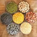 Red, Green and Yellow Lentils for sale