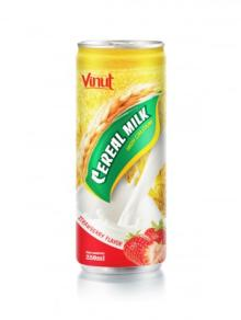 250 ml Cerear Milk Strawberry Flavor