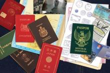 PASSPORTS and VISA and Work Permit