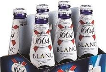 French kronenbourg 1664 Blanc Beer