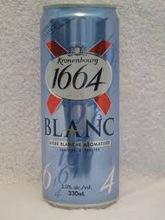 French Kronenbourg 1664 Blanc 25cl bottles/1664 beer kronenbourg 1664 blanc