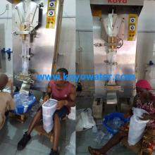 Koyo sachet drinking water packing machinery