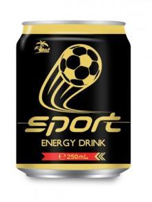 250ml Aluminium Sport Energy Drink