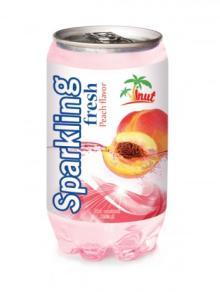 350ml Sparkling Fresh Peach Flavour