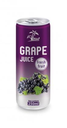 250ml Grape Juice Fresh Fruit