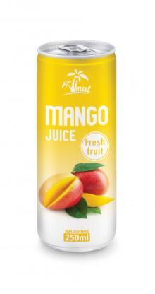 250ml Mango Juice Fresh Fruit