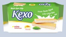 Kexo Cream wafer cake spring rice flavor