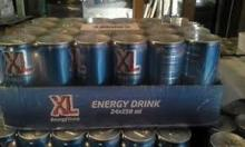Canned XL Energy Drinks