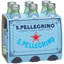 Good quality San Pellegrino Sparkling Natural Mineral Water