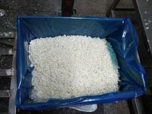 IQF frozen water chestnut cubes