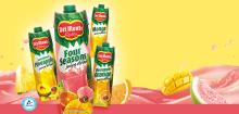 DEL MONTE 100% Orange Juice/ Del Monte Pineapple Juice/ DEL MONTE Drinks with Fruit Bits