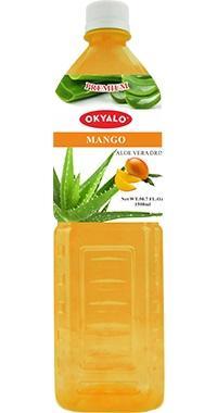 OKYALO 1.5L Mango Aloe Vera drink