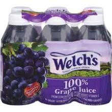 Welch's Single Serve 100% Grape Juice