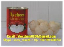 CANNED LYCHEES