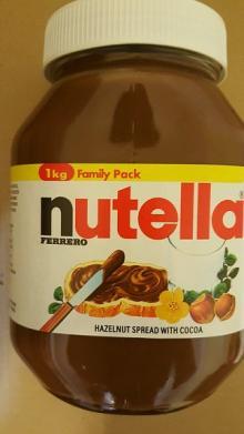 1KG FERRERO NUTELLA HAZELNUT SPREAD WITH COCOA
