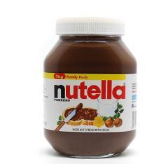 4x Ferrero NUTELLA Hazelnut Chocolate Bread Spread 290gram 10.25oz