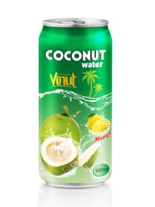 500ml Mango flavored coconut water