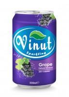 Grape Sparkling Water 330ml