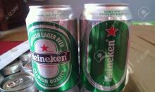 Heineken Premium canned and Bottle Beer available