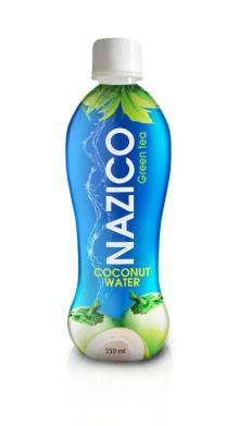 350ml  Green   tea  Coconut water