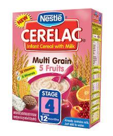 Cerelac baby food 3 Cereals with Milk 400g