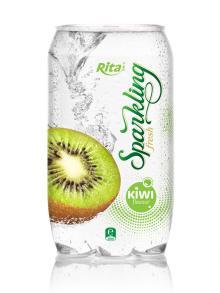 Sparkkling Kiwi flavor juice 350ml PET can