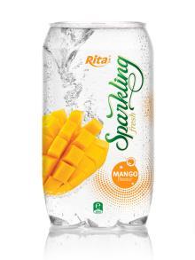Sparkling Mango flavor Juice 350ml PET Can
