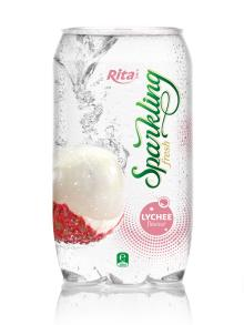 Sparkling Lychee flavor Juice 350ml PET Can