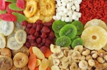 Dried fruits, Turkish dry fruits and Nuts