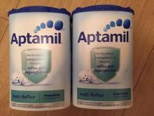 Aptamil Anti-Reflux Milk. X2 NEW. SEALED. BBD 30/01/2018