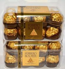 32 Ferrero Rocher Fine Hazelnut Chocolates THE GOLDEN EXPERIENCE gift box FRESH